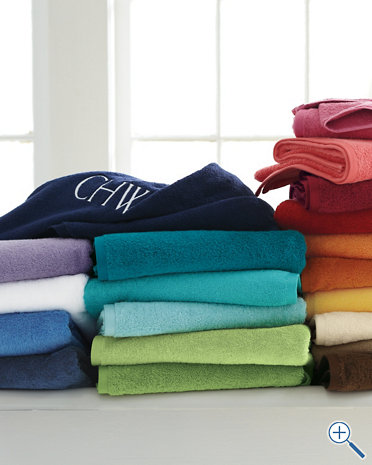 Garnet Hill towels