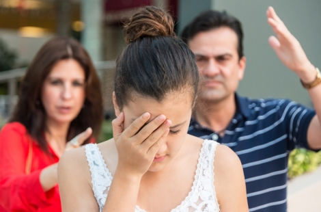 parents and teen, misogyny and messaging