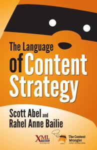 The Language of Content Strategy book