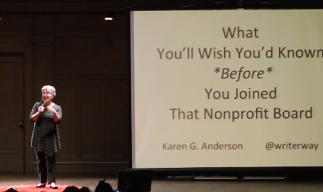 Karen Anderson ignite talk